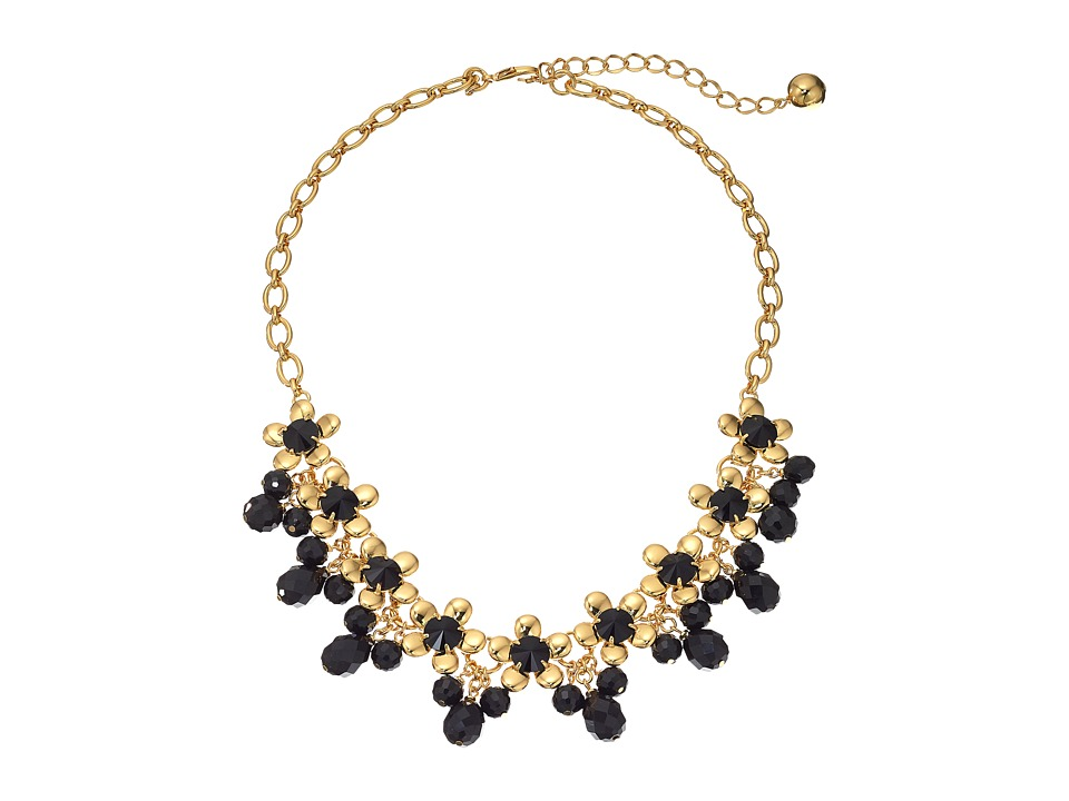 Kate Spade New York - Sunset Blooms Necklace (Black Multi) Necklace