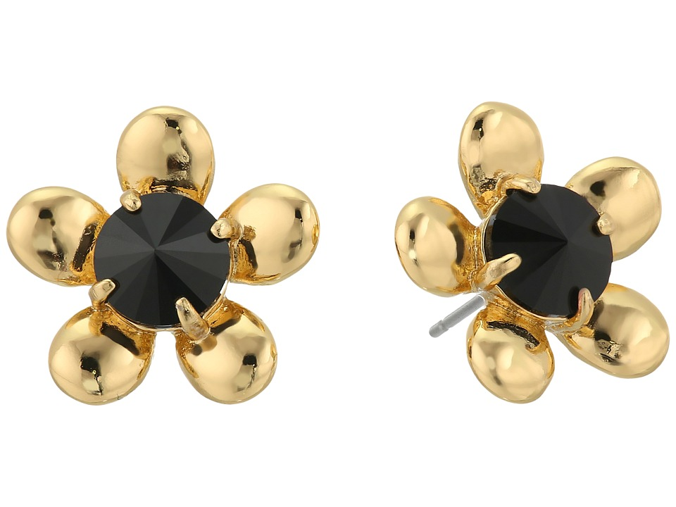 Kate Spade New York - Sunset Blooms Studs (Black Multi) Earring