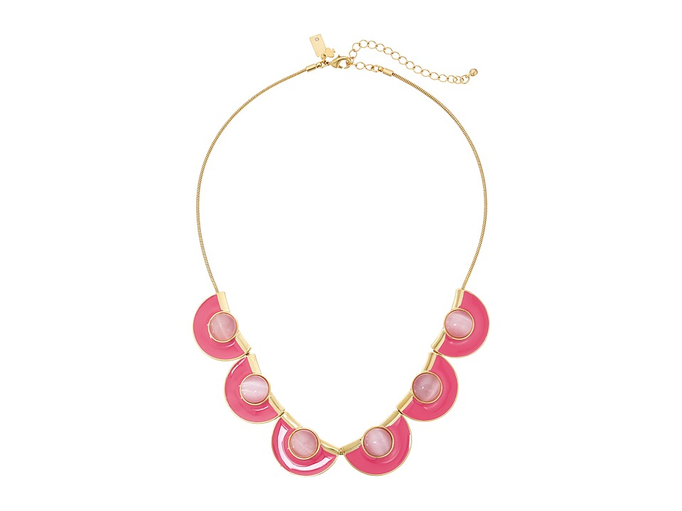 Kate Spade New York - Taking Shapes Short Necklace (Pink) Necklace