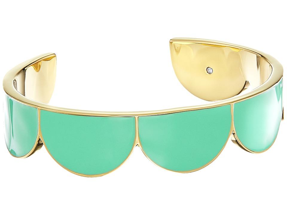 Kate Spade New York - Taking Shapes Cuff (Mint) Bracelet
