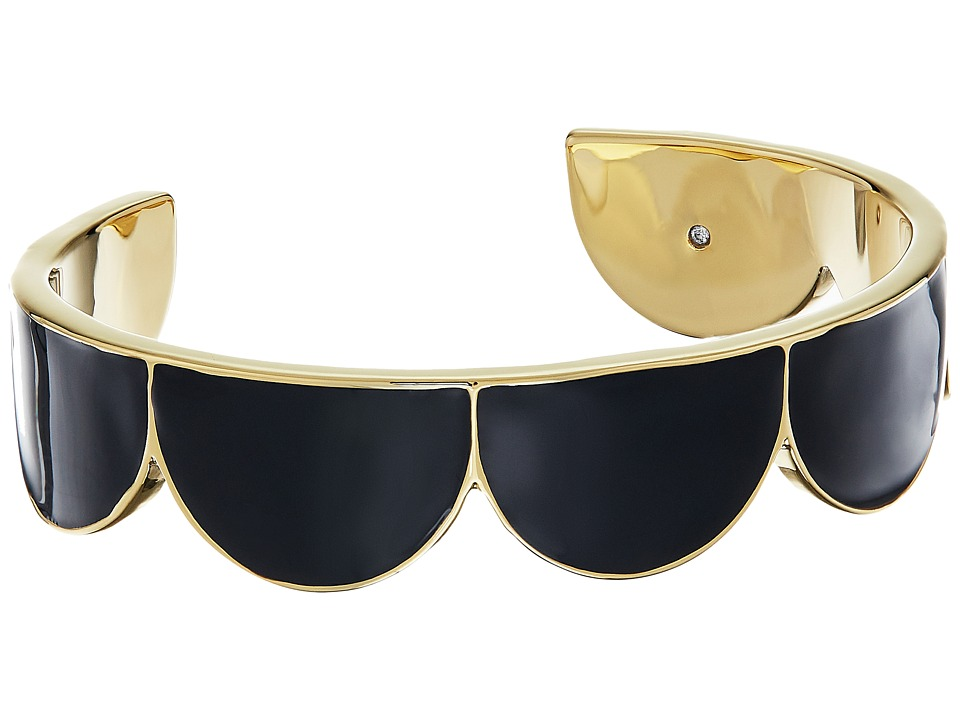 Kate Spade New York - Taking Shapes Cuff (Black) Bracelet