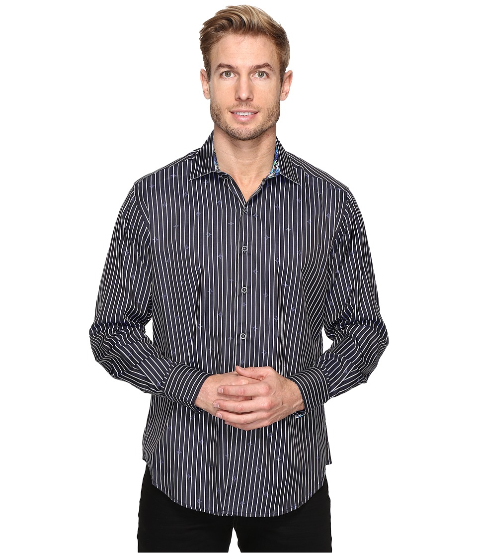 Robert Graham - Alderaan Shirt (Black) Men's Long Sleeve Button Up