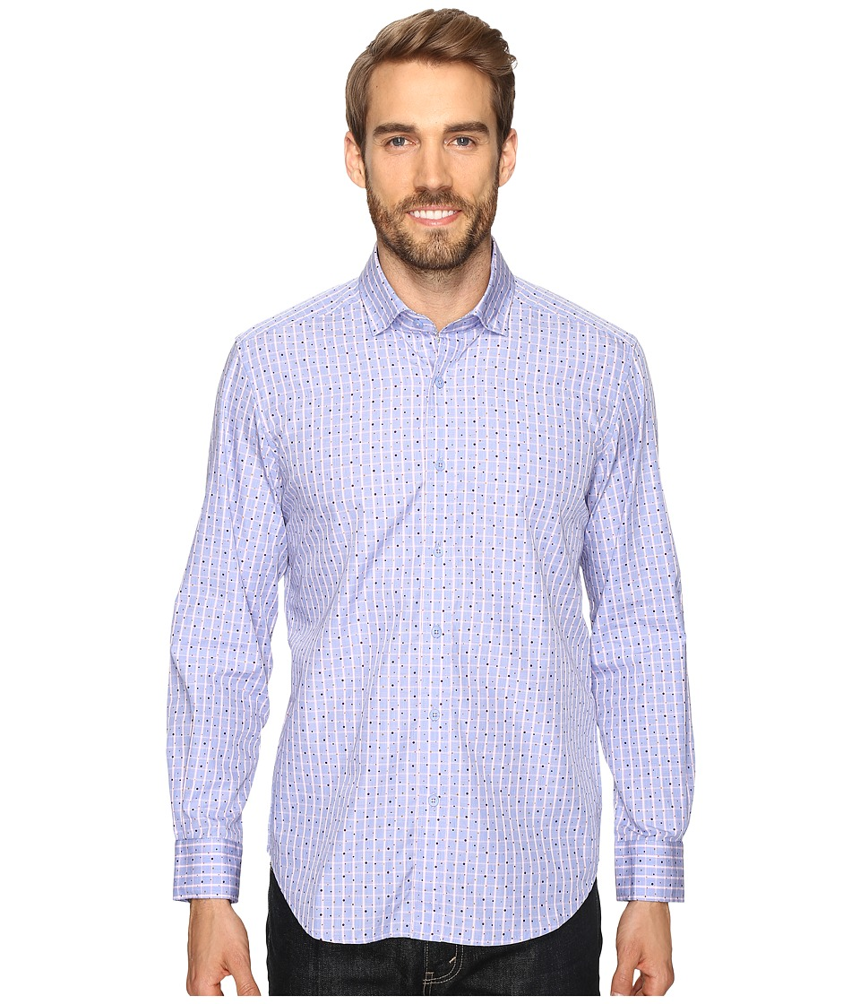 Robert Graham - Hubert Shirt (Blue) Men's Long Sleeve Button Up