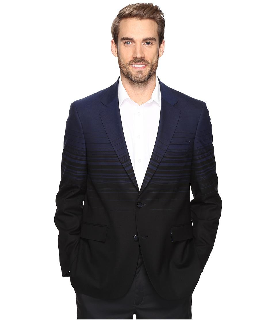 Robert Graham - St. Sebastian Jacket (Navy) Men's Jacket