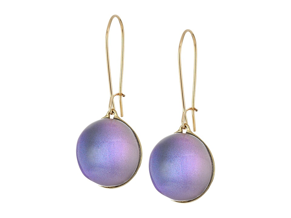 Alexis Bittar - Dangling Sphere Kidney Wire Earrings (Orchid Haze) Earring