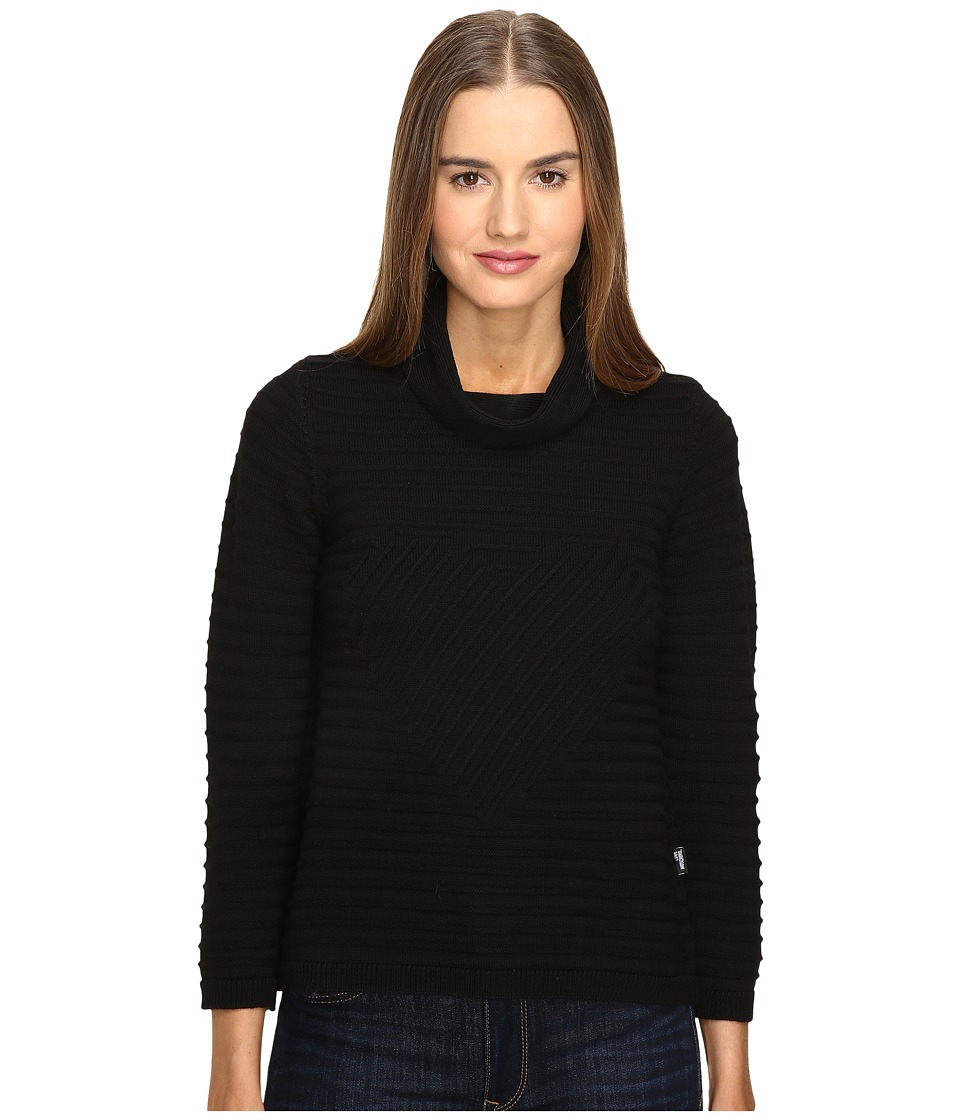 LOVE Moschino - Turtleneck Knit (Black) Women's Clothing