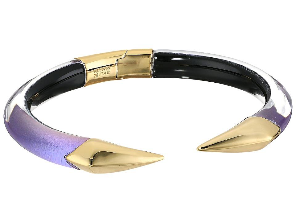 Alexis Bittar - Mirrored Pyramid Brake Hinge Bracelet (Orchid Haze) Bracelet