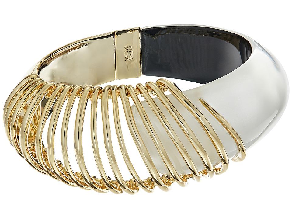Alexis Bittar - Coiled Hinge Bracelet (Silver) Bracelet