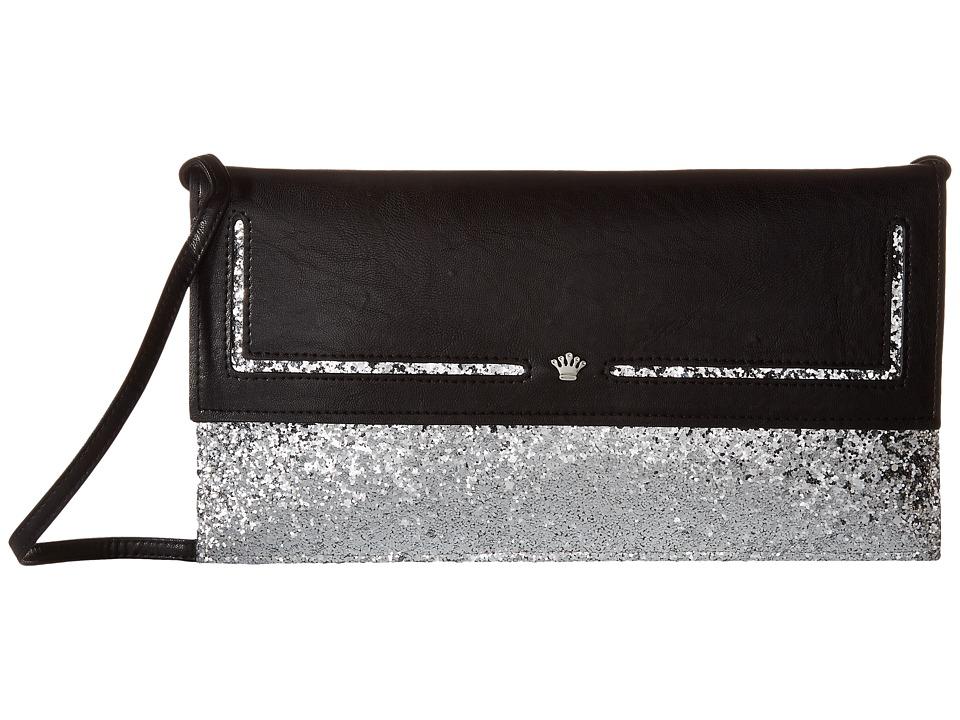 Nina - Amaly (Black/Silver) Handbags
