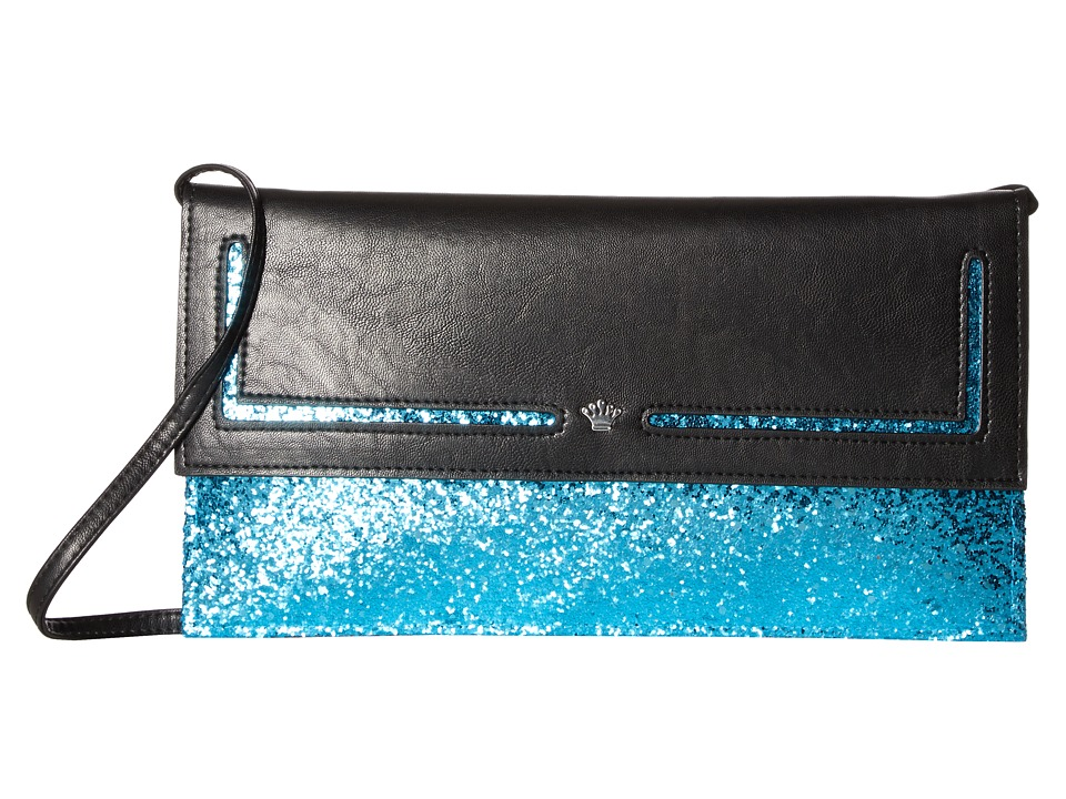 Nina - Amaly (Black/Teal) Handbags