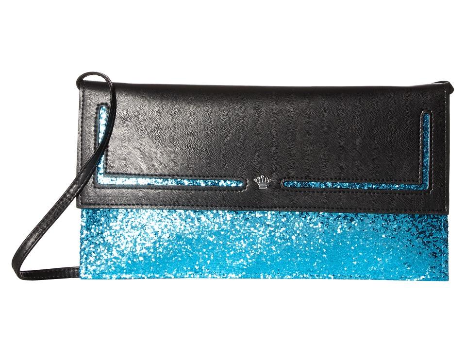 Nina - Amaly (Black/Teal) Handbags