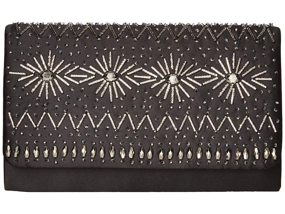 Nina - Menna (Black/Silver) Handbags