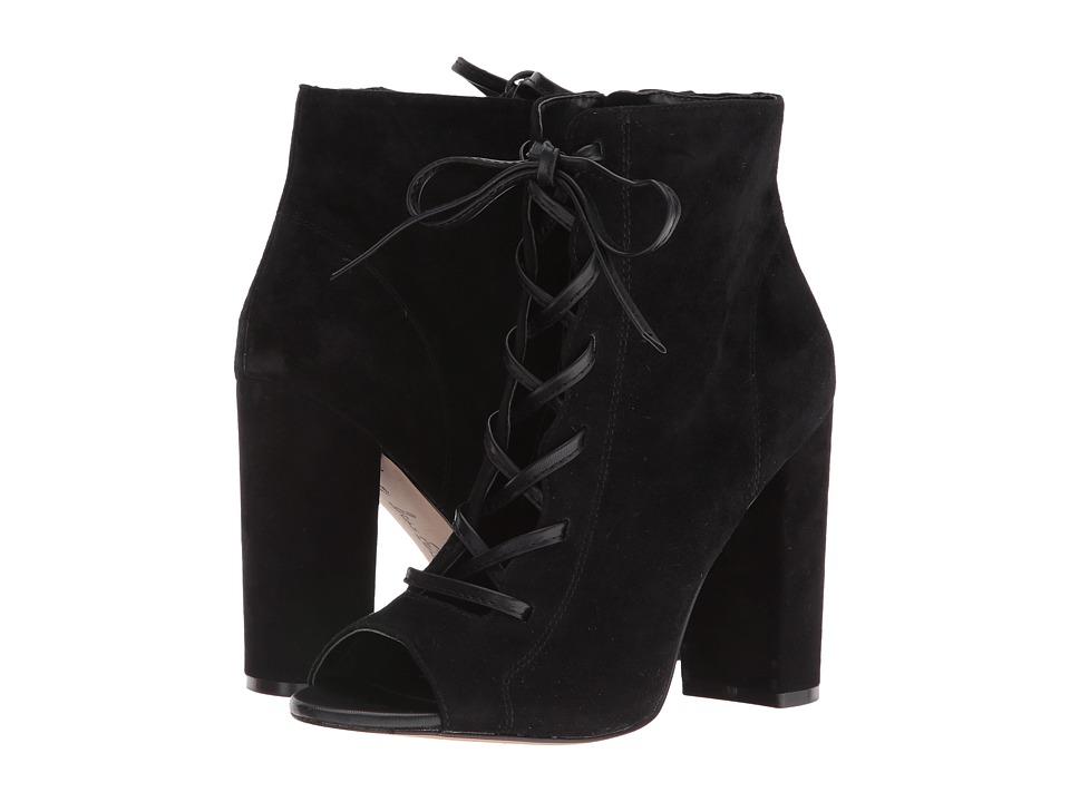 Sam Edelman - Yvie (Black Kid Suede Leather) Women's Shoes