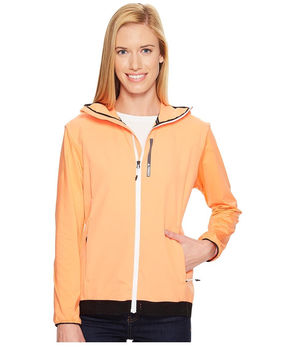 adidas Outdoor Voyager Jacket (Easy Orange) Women