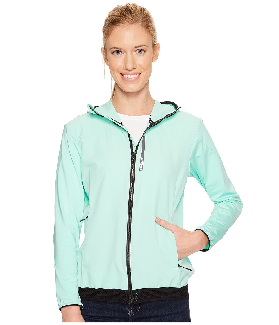 adidas Outdoor Voyager Jacket (Easy Green) Women