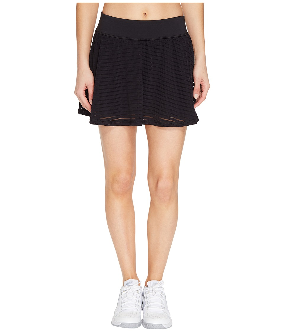 Lucy Ready Set Skirt (Lucy Black Stripe Mesh) Women