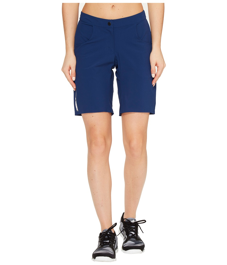 adidas Outdoor - Terrex Solo Shorts (Mystery Blue) Women's Shorts