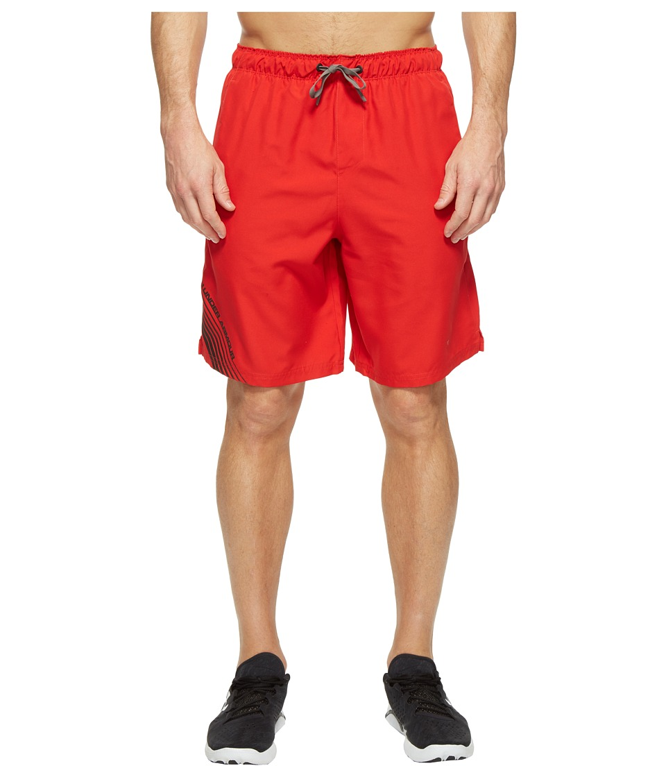 Under Armour - UA Mania Volley Shorts (Red/Maverick Brown/Black) Men's Shorts