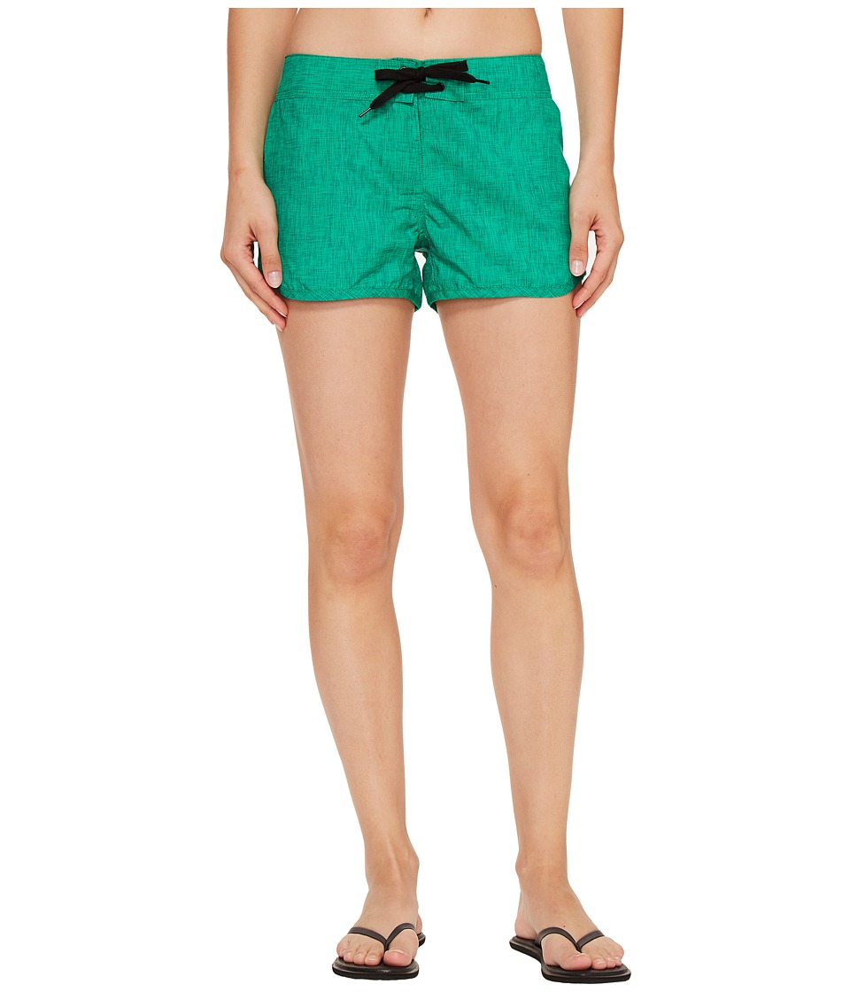 adidas Outdoor - All Outdoor Voyager Shorts (Core Green) Women's Shorts