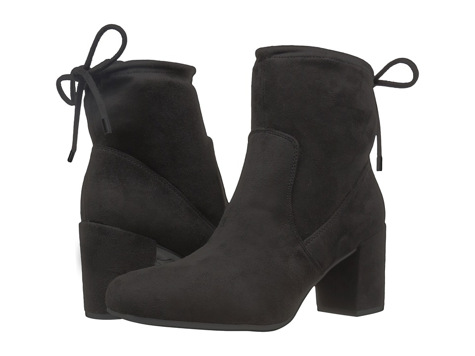 Franco Sarto - Pisces (Black Stretch Suede) Women's Shoes