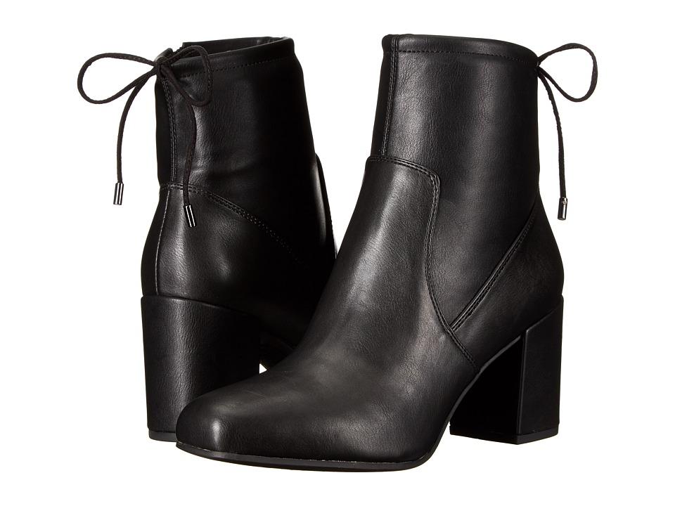 Franco Sarto - Pisces (Black Stretch Leather) Women's Shoes