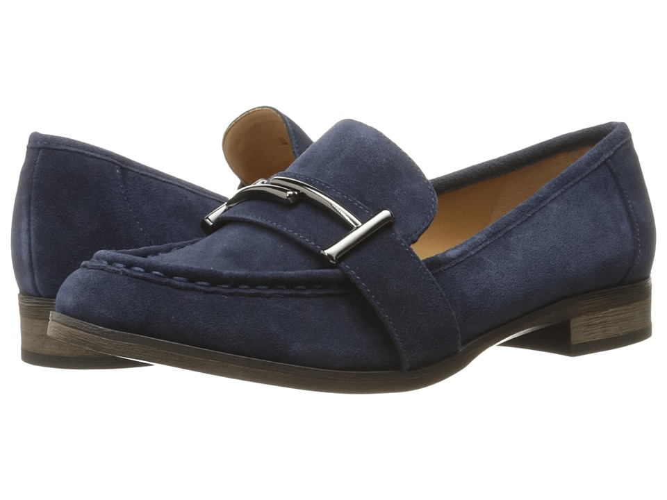 Franco Sarto Baylor (Twilight Navy Velour Suede) Women