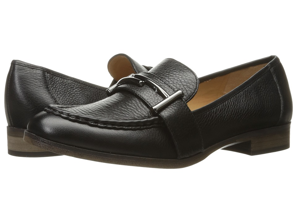 Franco Sarto - Baylor (Black Leather) Women's Shoes