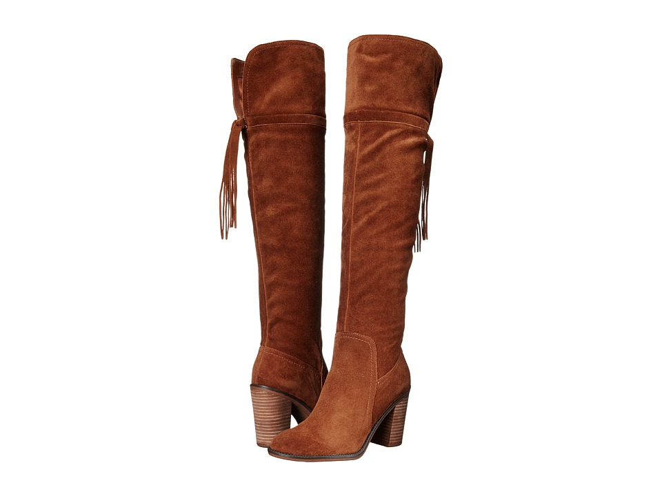 Franco Sarto - Eckhart (Cognac) Women's Dress Zip Boots