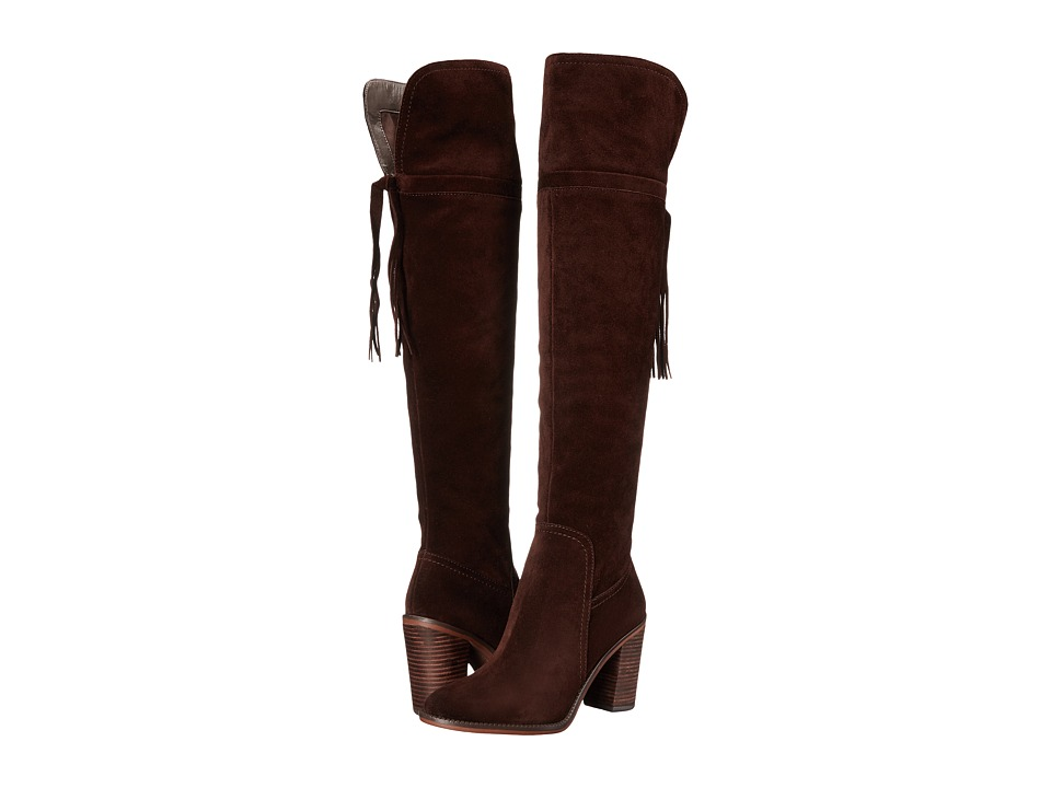 Franco Sarto - Eckhart (Dark Java) Women's Dress Zip Boots