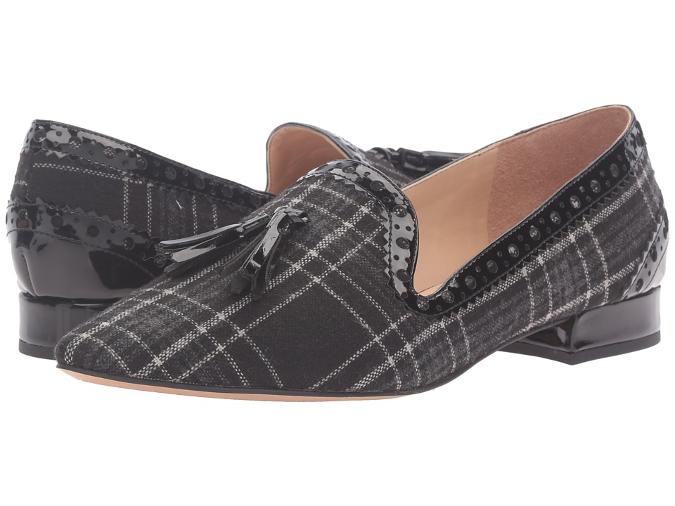 Franco Sarto - Stella (Black Plaid) Women's Shoes