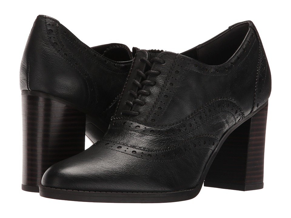Franco Sarto - Maze (Black Leather) Women's Shoes