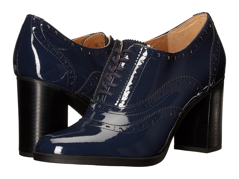 Franco Sarto - Maze (Navy Patent) Women's Shoes