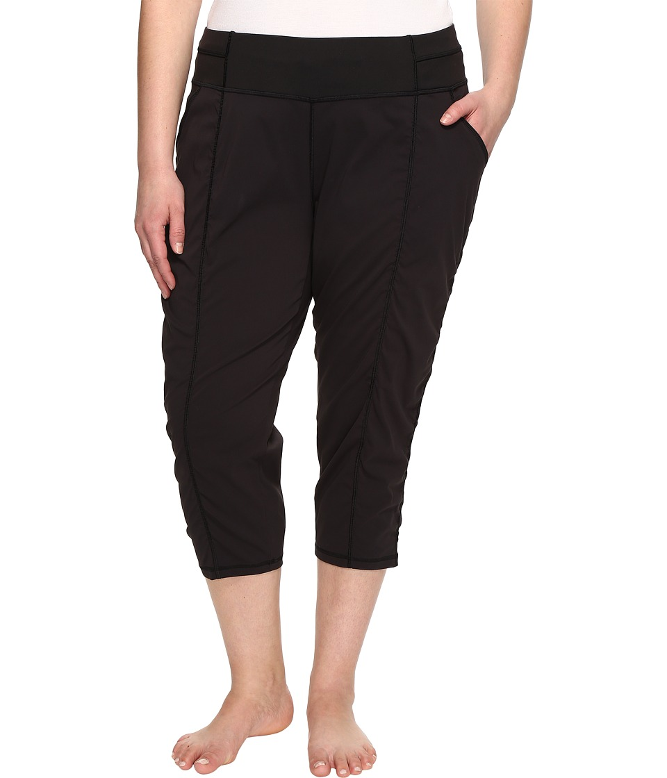 Lucy Extended Get Going Capris (Lucy Black) Women