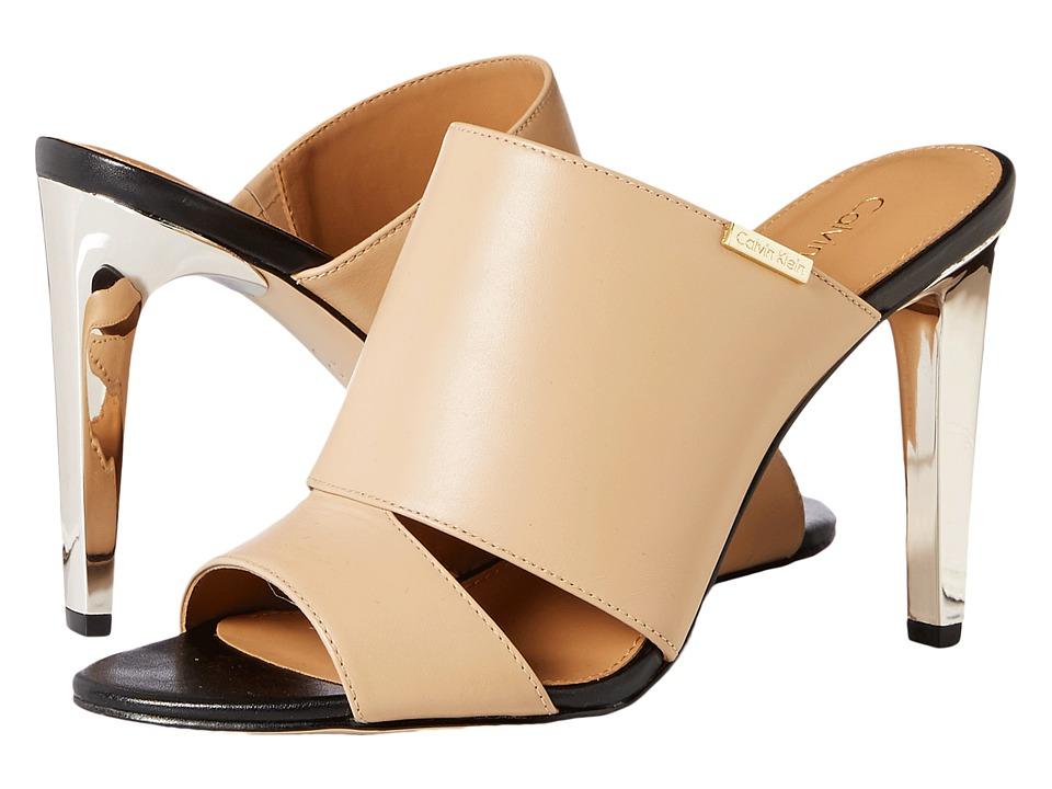 Calvin Klein - Ninfa (Sandstorm Leather) Women's Shoes