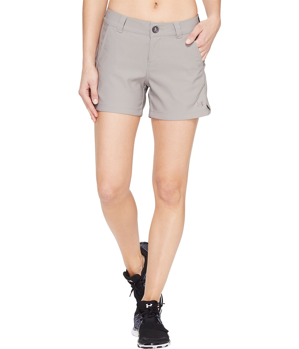Under Armour - Inlet Shorts (Pewter/Pewter) Women's Shorts