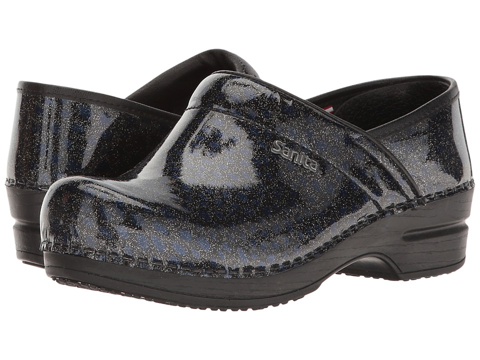 Sanita - Smart Step - Glitter (Black) Women's Shoes
