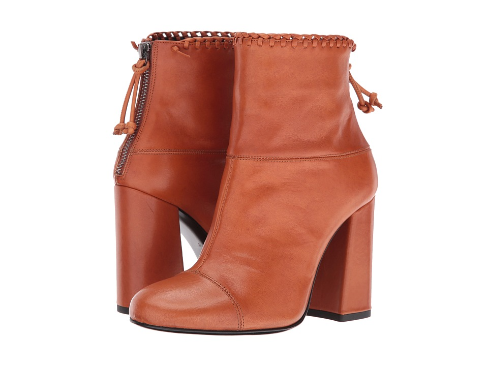 McQ - Pembury Whip Stitch (Rust Veg Calf) Women's Boots