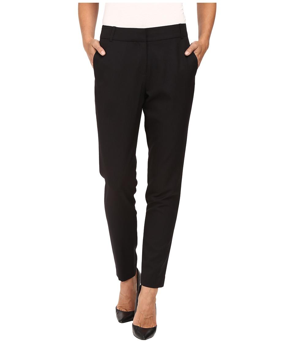 Pendleton - Slim Pants (Black Gabardine) Women's Casual Pants