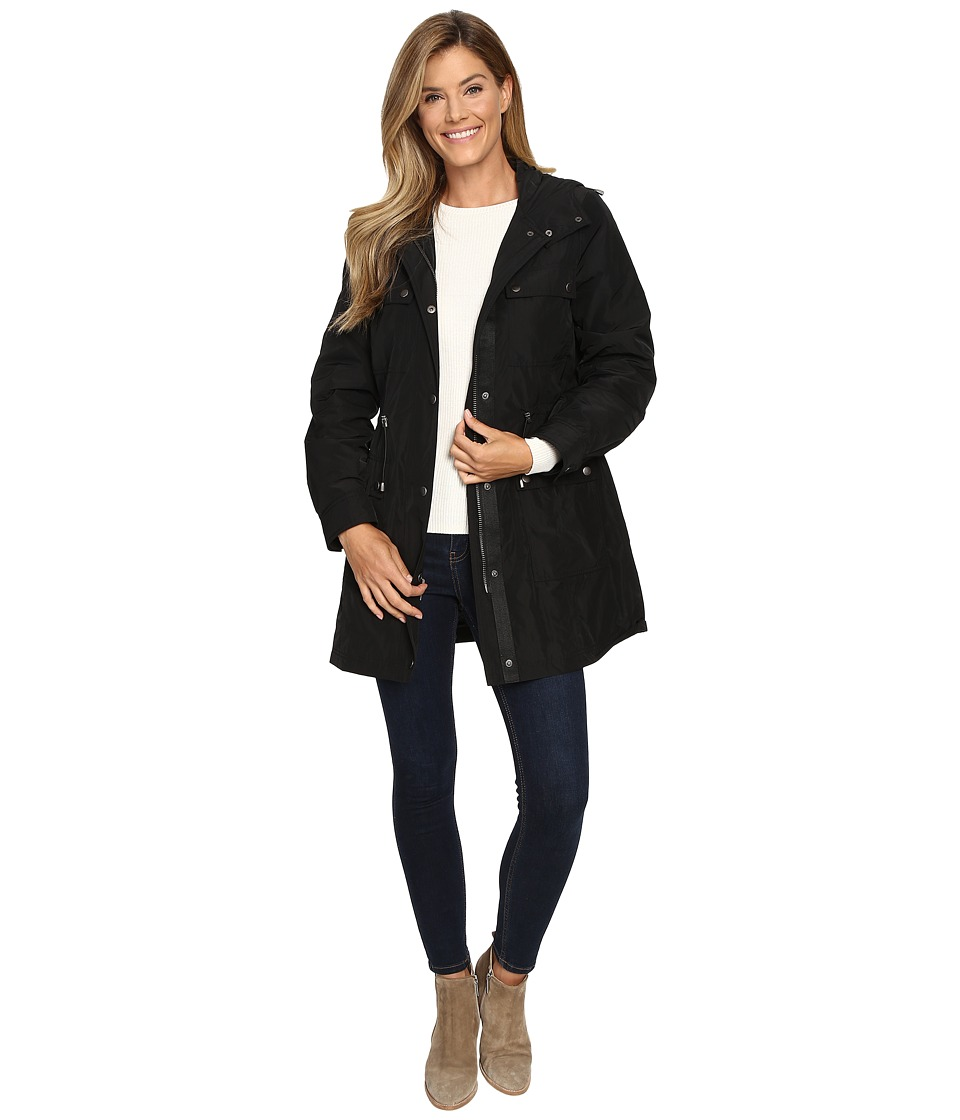 Pendleton - Hooded Anorak (Black) Women's Coat