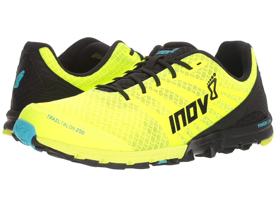 inov-8 - TrailTalon 250 (Neon Yellow/Black/Blue) Men's Running Shoes