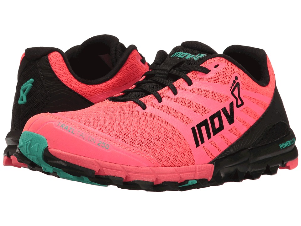 inov-8 - TrailTalon 250 (Neon Pink/Black/Teal) Women's Running Shoes