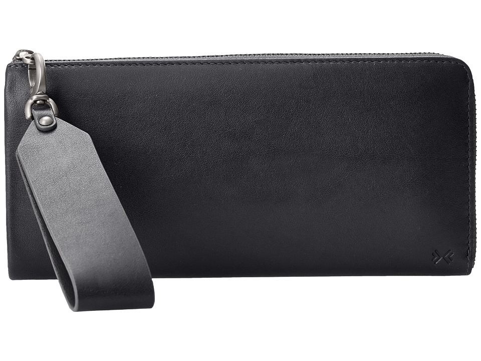 Skagen - Hanne Clutch (Black) Clutch Handbags
