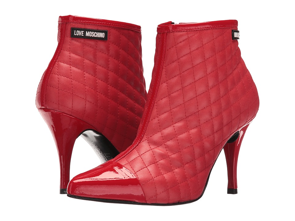 LOVE Moschino - Pointed Pump Heel (Red) High Heels