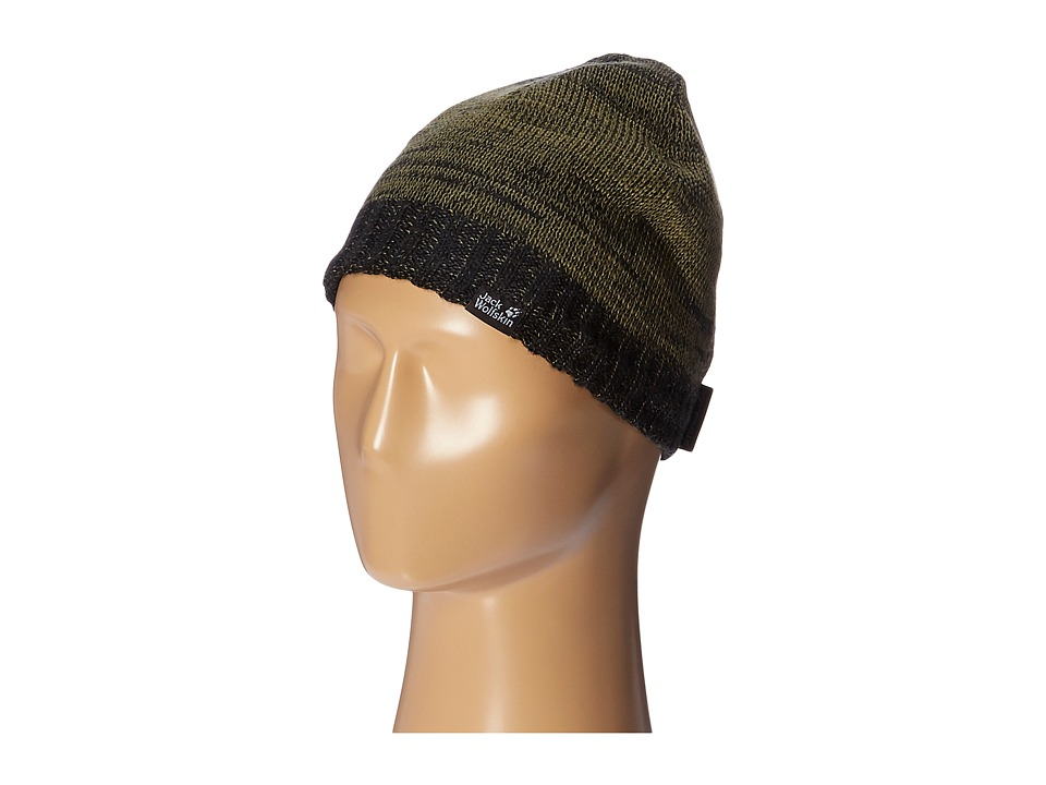 Jack Wolfskin - Stormlock Shadow Cap (Black) Caps