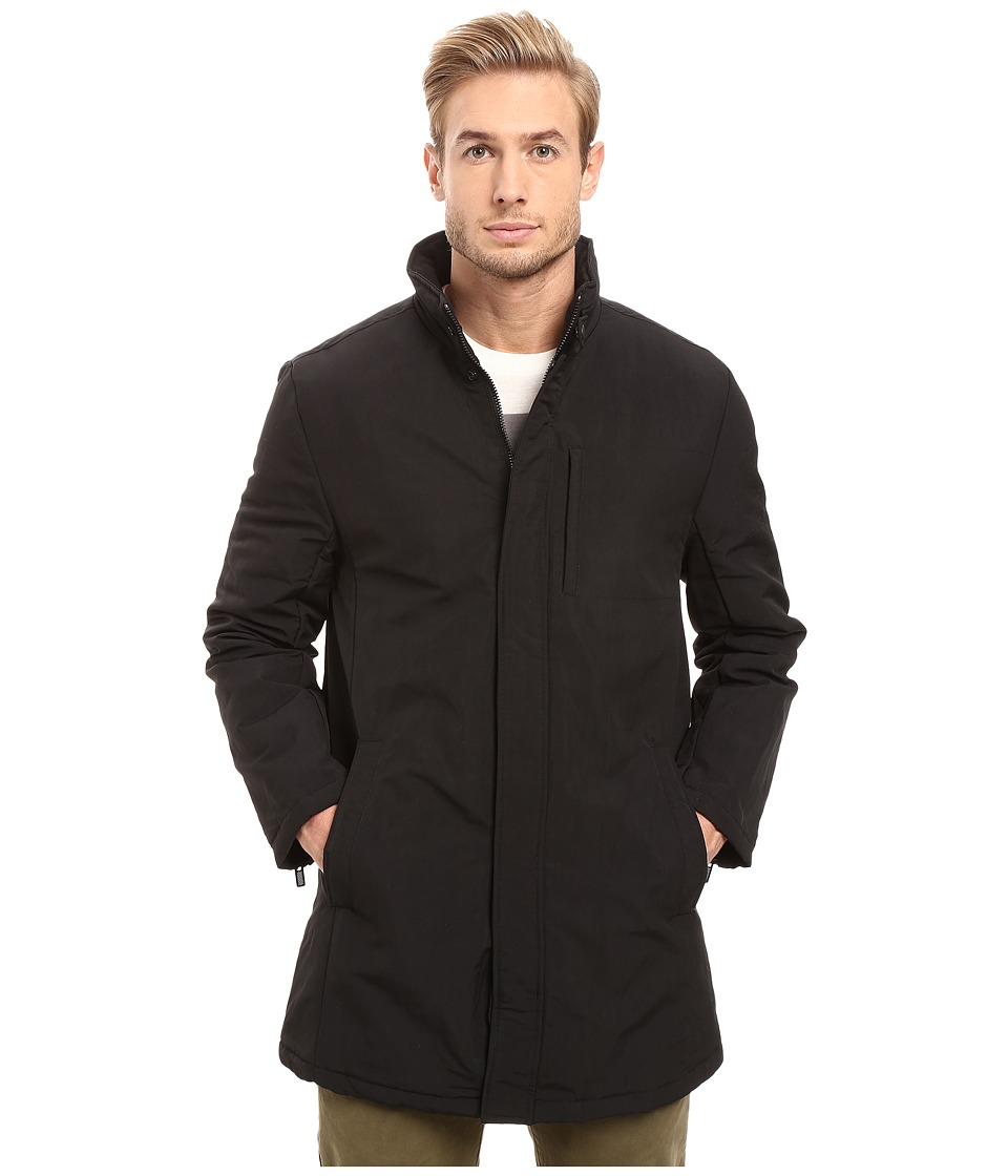Kenneth Cole New York - Quilted Mini Mac with Lining (Black) Men's Coat