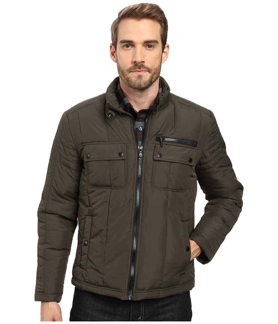 Kenneth Cole New York - Polyfill Urban Jacket (Sage) Men's Coat