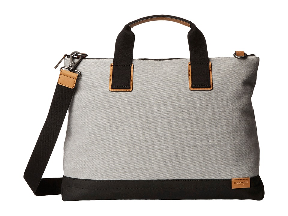 Skagen - Kruse Document Bag (Gray) Bags