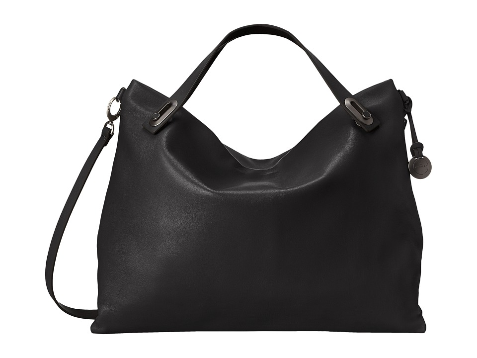 Skagen - Mikkeline Satchel (Black) Satchel Handbags