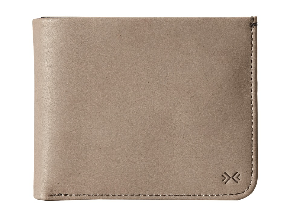 Skagen - Nicolai Leather Bifold Wallet (Stone) Wallet Handbags