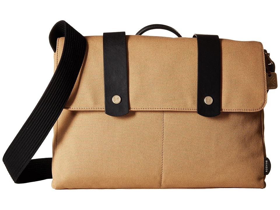 Skagen - Tranum Messenger (Khaki) Messenger Bags